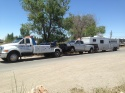 horse trailer truck towing utah